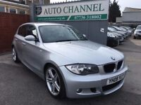 BMW 1 Series 2.0 123d M Sport 5dr£7,395 p/x welcome FREE WARRANTY. NEW MOT