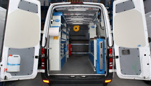 Commercial Van Outfitting