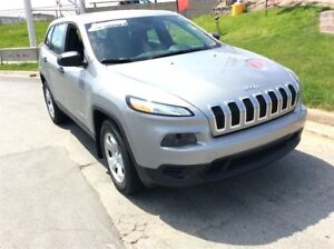 2014 Jeep Cherokee SPORT/4X4/HEATED SEATS/PWR OPTS