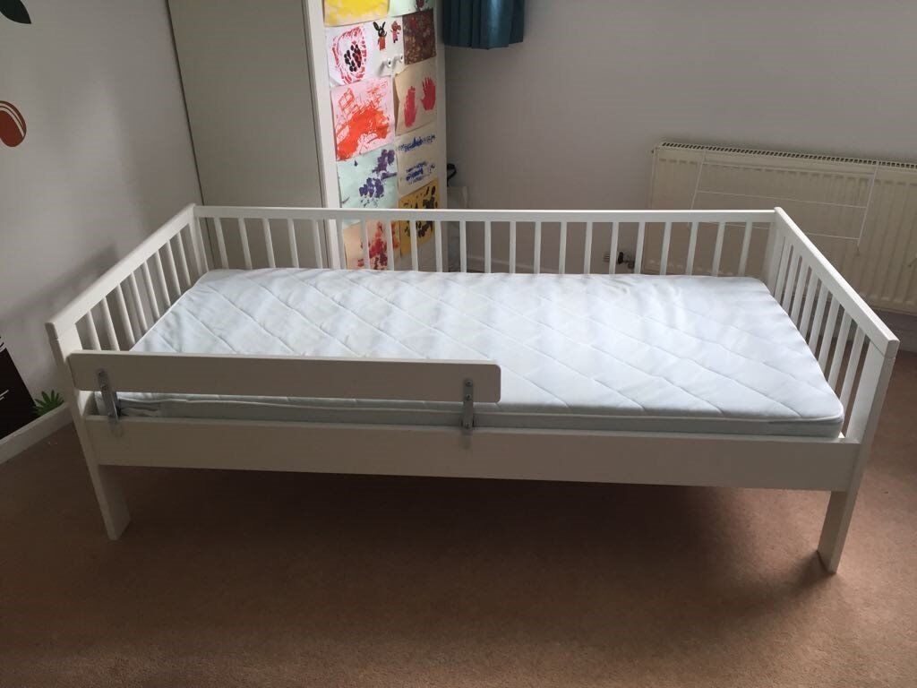 IKEA Gulliver Toddler Bed With Vikare Guard