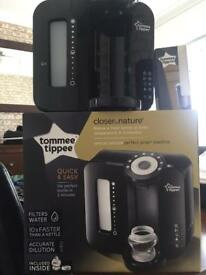 Tommee Tippee closer to nature bottle machine