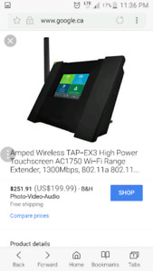 Amped wireless AC175 TOUCH SCREEN router