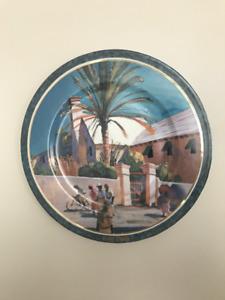 GOEBEL/HUMMEL BERMUDA MASTERWORKS MUSEUM  PLATE