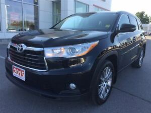 2015 Toyota Highlander XLE-ONE OWNER+SERVICED HERE!