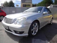 MERCEDES BENZ C220 CDi SPORT EDITION~06/2006~AUTOMATIC~STUNNING SILVER~HUGE SPEC