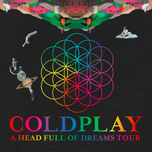 Coldplay A head full of dreams in Toronto! Price change!!