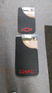GM mud flaps front and rear set new