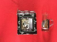 Set of two Irish Coffee glasses
