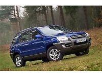 Kia Sportage XE CRDI (blue) 2005