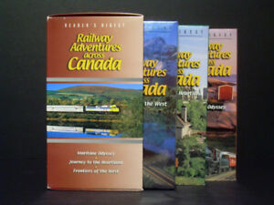 Railway Adventures across Canada VHS: Complete PBS Series