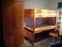 STOMPA High Sleeper Bed c/w Desk Under