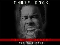 2 Tickets for Chris Rock at Glasgow Hydro on 24/1/18 for £160
