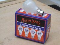 QUANTITY OF 20 MAXIM 100W LIGHTBULBS