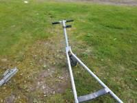 Wayfarer launching trolley