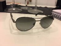 CHANEL Aviator Sunglasses Polarized 4201 Green