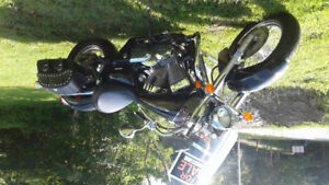 2006 Black 750 Honda Shadow for sale