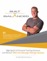Sign Up for Personal Training & Receive 2 Free Massage Sessions