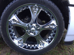 Devino road concept wheels and tires