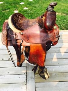 Team Roping Saddle for Sale