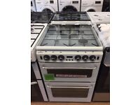 #9 New Ex-Display NewWorld 550TSIDLM White 55cm Gas Cooker £299