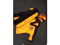Tiger cubs tkd suit and gloves