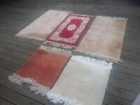 5 rugs all good order and clean various sizes