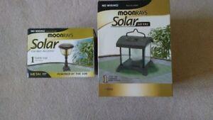 NEW in a box -  Solar Garden Light Fixtures