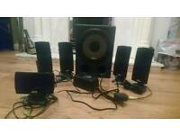 Cyber Acoustics CA-5150 5.1 Amplified PC Speakers