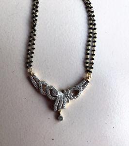 Indian gold imitation mangalsutra