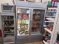 Double door upright freezer - very economical - £800