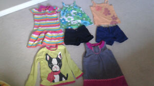 Girls clothing lot size 4