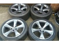 "GENUINE VW T5 T6 TRANSPORTER BMW 259 X6 E71 E72 20"" ALLOY WHEELS CONCAVE 11J"