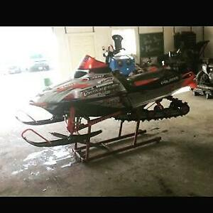 04 rmk 600 with parts sled!