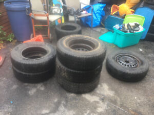 I have a bunch of tires for sale