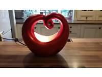 Heart shaped lamp