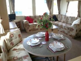 CHEAP STATIC CARAVAN FOR SALE IN TOWYN WITH FACILITIES & INDOOR SWIMMING POOL - IMMACULATE CONDITION