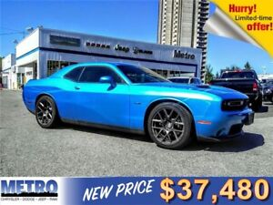 2016 Dodge Challenger R/T- LOW MILEAGE