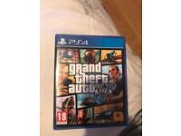 GTA 5 PS4 Pristine Condition hardly used