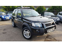 2006 LAND ROVER FREELANDER 2.0TD4 HSE,FULLY LOADED,SAT-NAV,HEATED LEATHER,VERY GOOD COND.