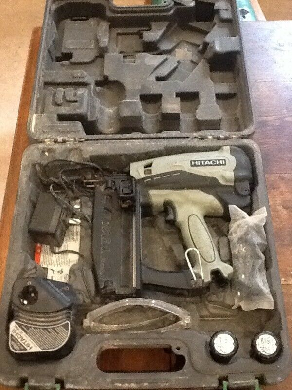 hitachi 2nd fix nail gun. hitachi 2nd fix nail gun d