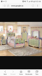 Youth Twin Dollhouse 3 piece Bedroom set