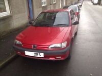 1996 Peugeot 306, Five Door. 1.4. Only 64k! Full Service History! Swap Caravan?