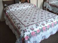 Double Flowered Bedspread