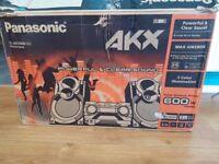 Panasonic SC-AKX400EBK 600W HiFi Built In Wireless Audio Streaming 2GB Memory