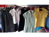 Bundle of girl school clothes