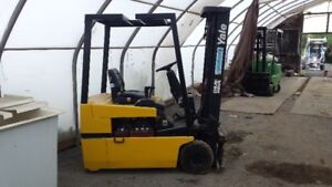YALE ELECTRIC FORKLIFTS