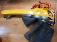 Alko Hurricane 2400 EL leaf blower/collector