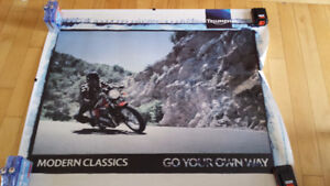 Triumph Motorcycle Modern Classics Poster
