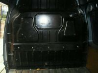 ford transit connect factory steel bulkhead