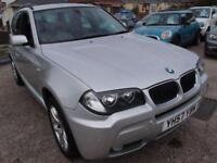 2007 57 BMW X3 2.0 D M SPORT 5D 148 BHP DIESEL